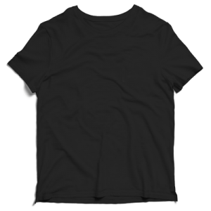 Imagen de Camiseta Básica Negra para adulto
